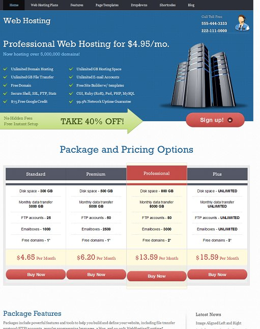 Webhosting WordPress Theme – Web Hosting Company Template